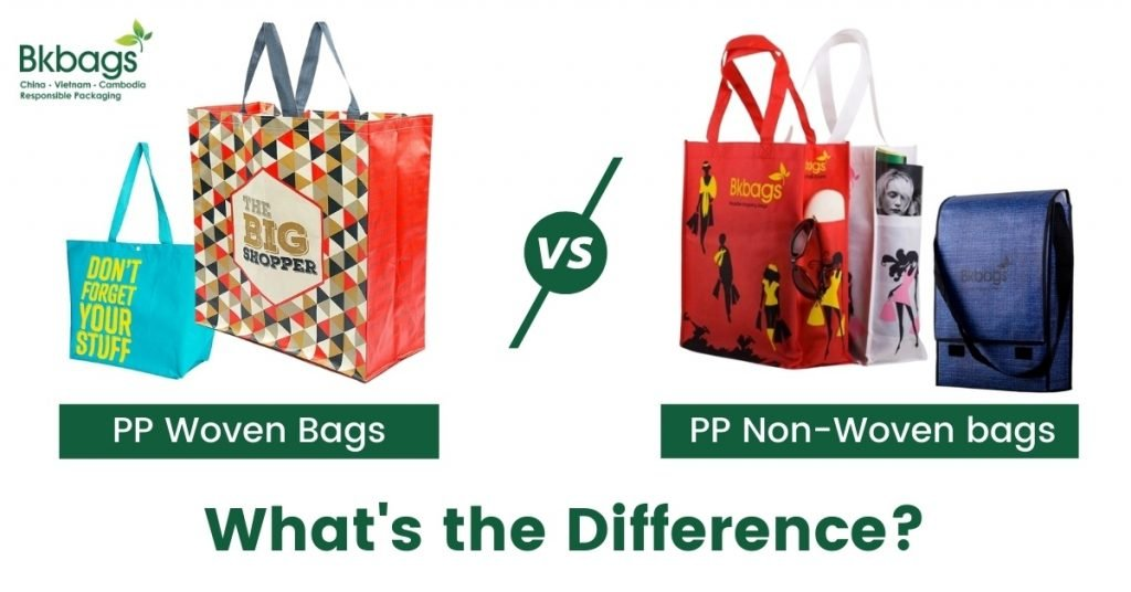 pp woven and non-woven reusable bags what difference