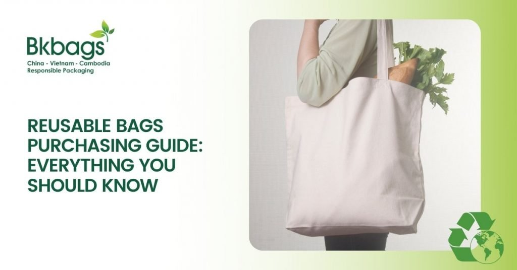 reusable bags purchasing guide